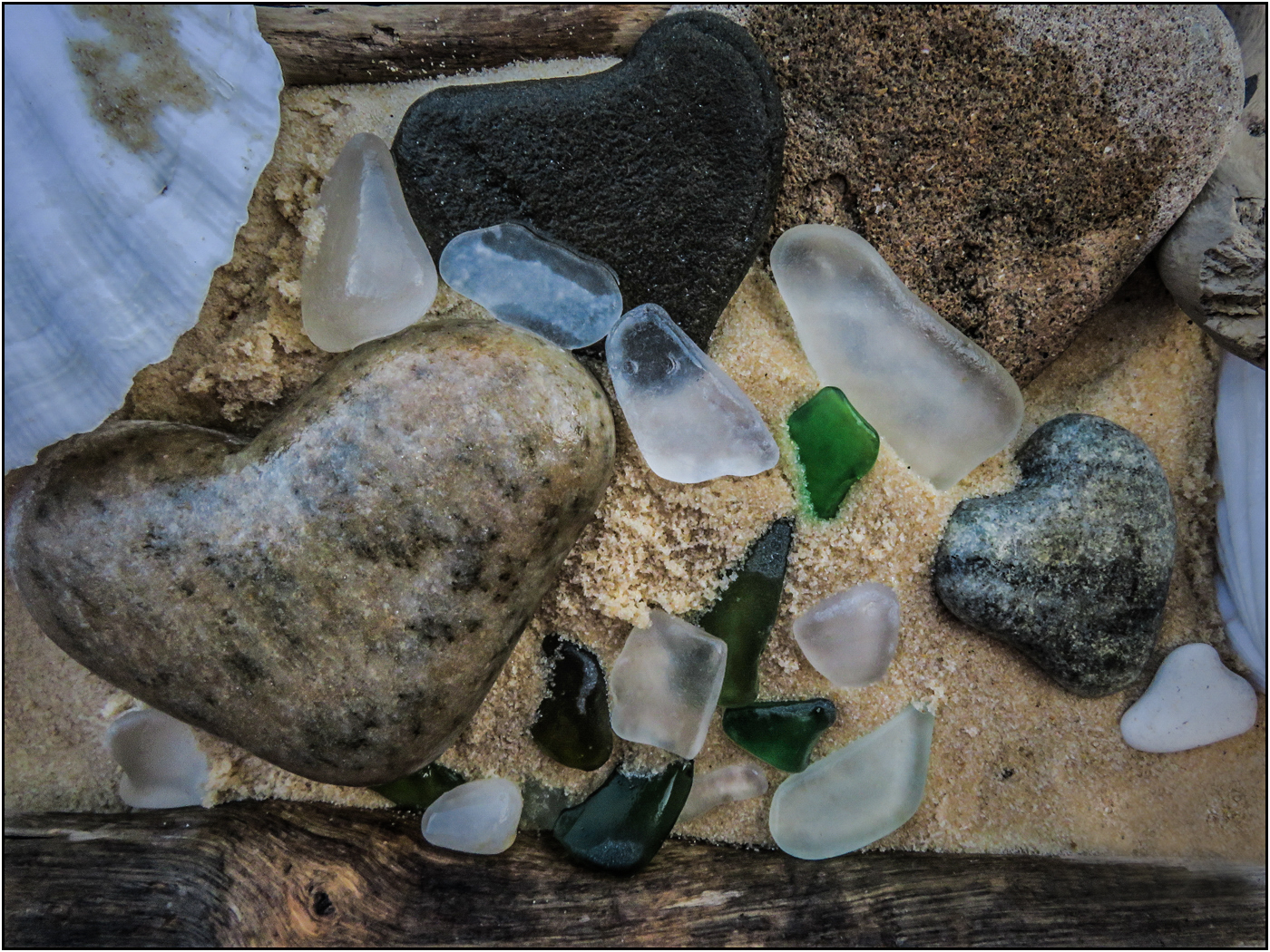 Beachcombing for Sea Glass