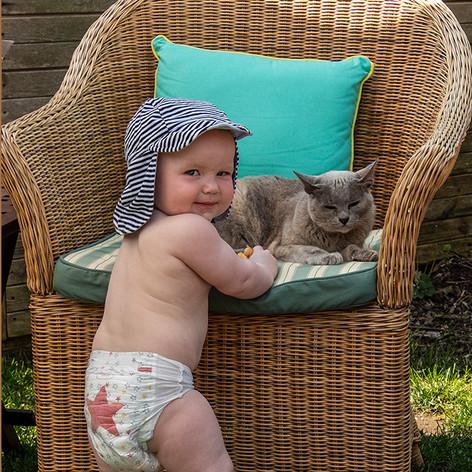 Look Nana - a CAT!