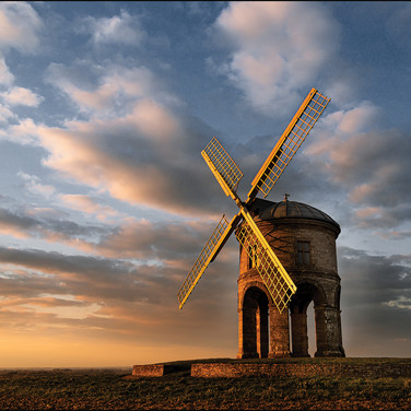 The Mill at Twilight