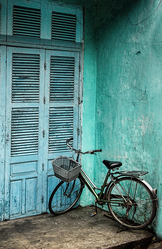 Riding the blues