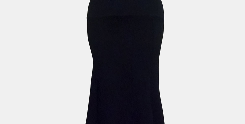 Roxana Vincelli 7 Part Skirt Black Pique
