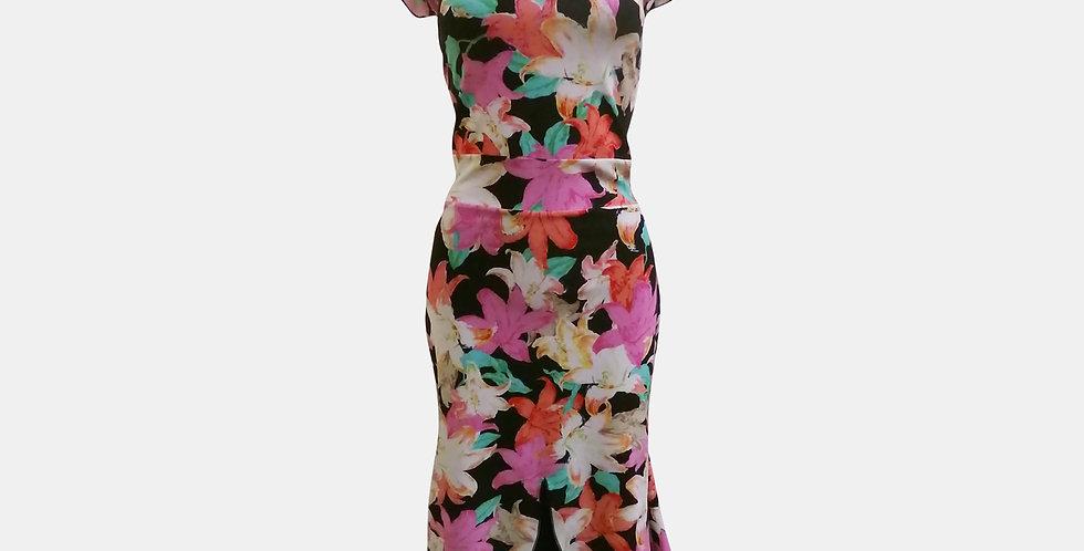 Onel Dress - Corazon Pink Flowers