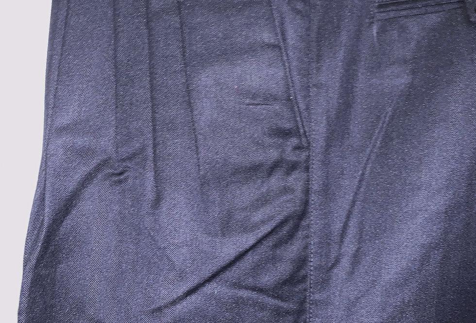 Dark Blue - Pleated