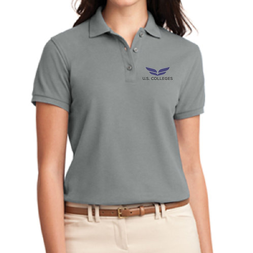 USC - Polo- D1L500 Ladies Silk