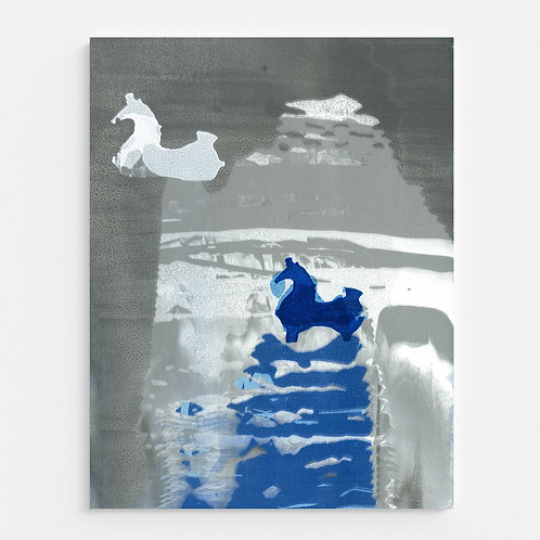 Shades of Blue - Canvas Prints Wrap