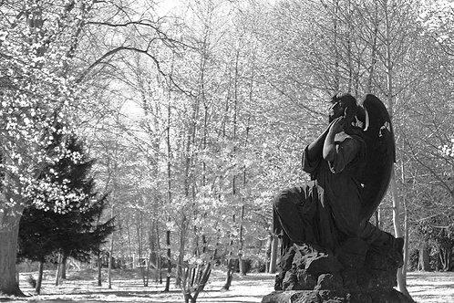 Alter Friedhof Engel in Essen Segeroth