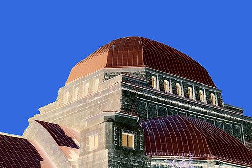 alte Synagoge Essen/ bluesky