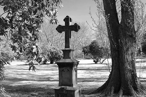 Alter Friedhof Essen Segeroth Kreuz