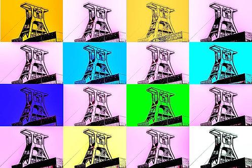 Schacht XII Farbspiel 4x4