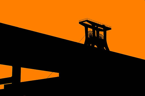 Zollverein Sonnenaufgang