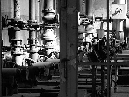 Kokerei Zollverein Steuerung Kokorei