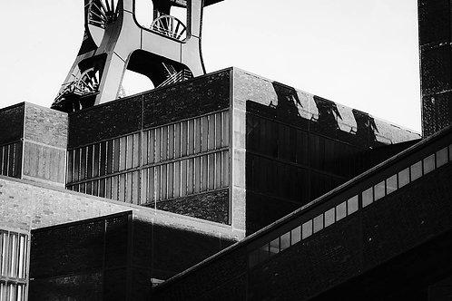 Schacht XII Zollverein Kubismus