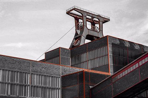 Zollverein Schacht XII kubi rot