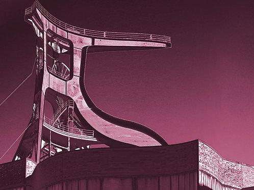 Zollverein Schacht XII Concave en rose