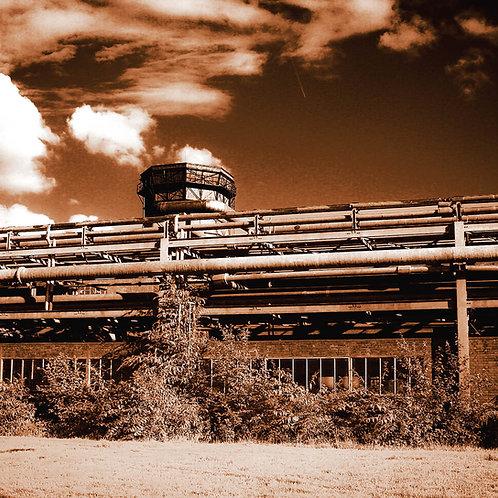 Kokerei Zollverein Kammgebäude sepia