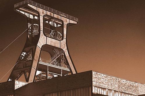 Zollverein Schacht XII schwarzbraun
