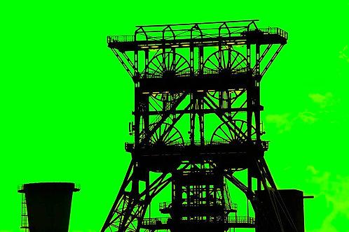 Zeche Consol GE grün