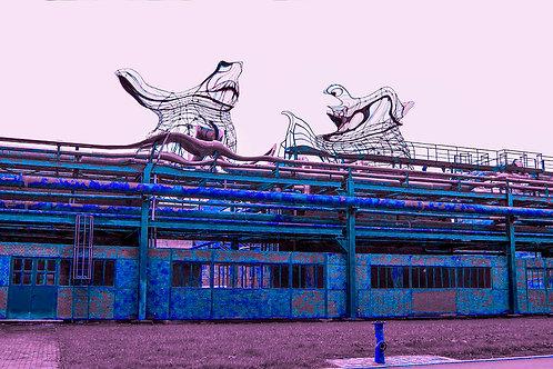 Kokerei Zollverein aliens