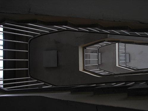 Altes Hallenbad Marxloh Treppe