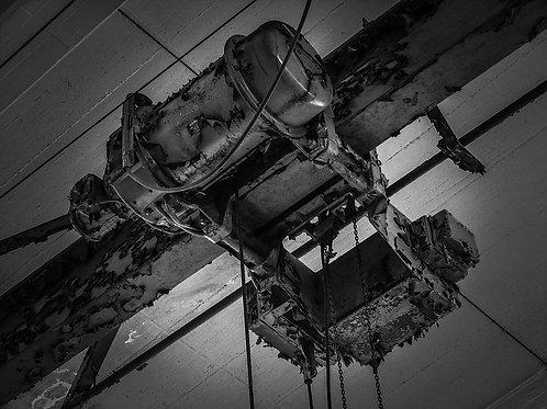 Kokerei Zollverein Kran auf Schiene