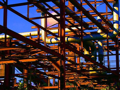 Zollverein Stahlgitter