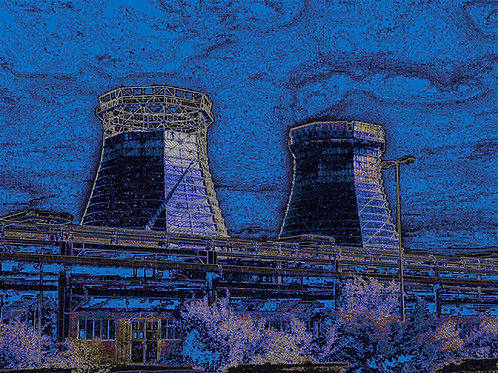 Zollverein Kokerei blaugrün