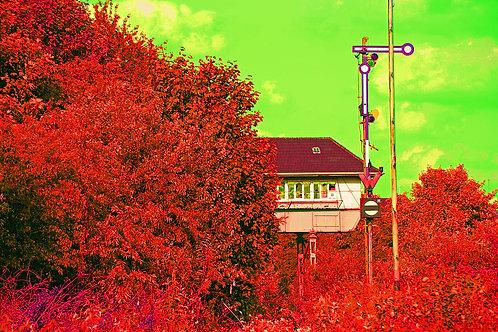 Essen Nordstadt / Altes Stell-Haus rot