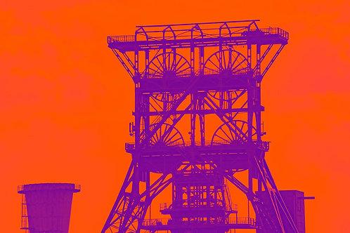 Zeche Consol GE orange
