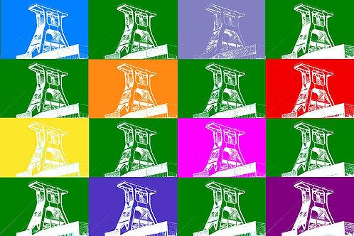 Schacht XII Farbspiel 5x5