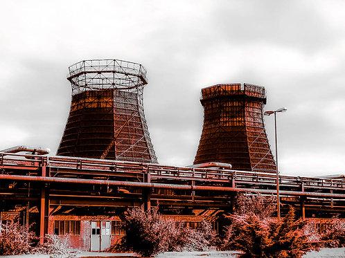 Zollverein Kokerei rotgrau