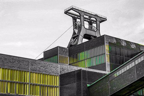 Zollverein Schacht grün