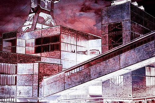 Zollverein Schacht XII redinvers