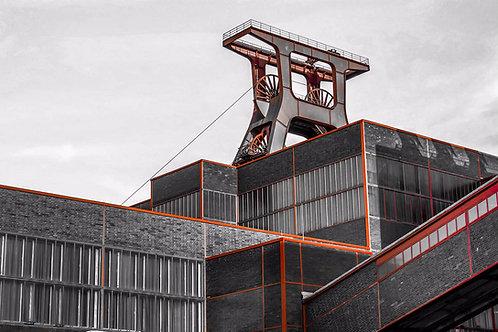 Zollverein Schacht XII kubi orange