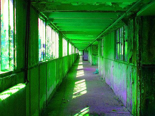 grüner Gang / Kammgebäude Kokerei Zollverein