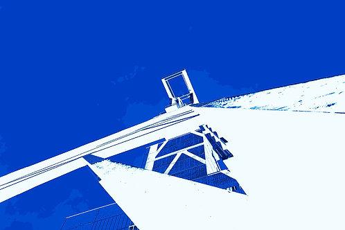 Zollverein blau-weiß