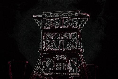 Zeche Consol GE schwarzweiß