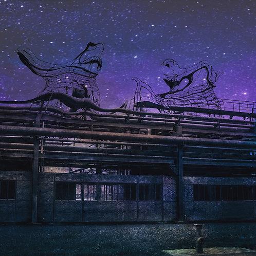 Zauberwesen auf Kokerei Zollverein