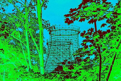 Kokerei Zollverein grüne Kühltürme