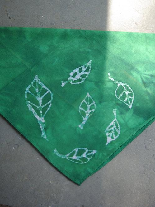 Green Leaf Hankie