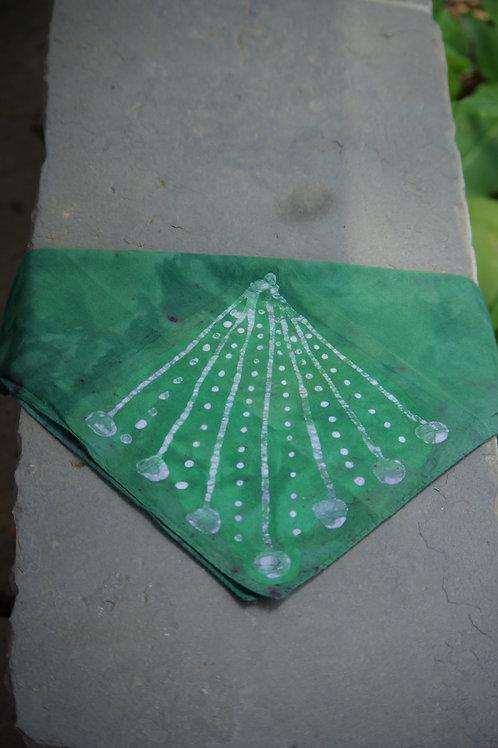 Green Geometrics Hankie