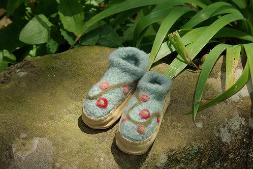 Floral Vine Slippers