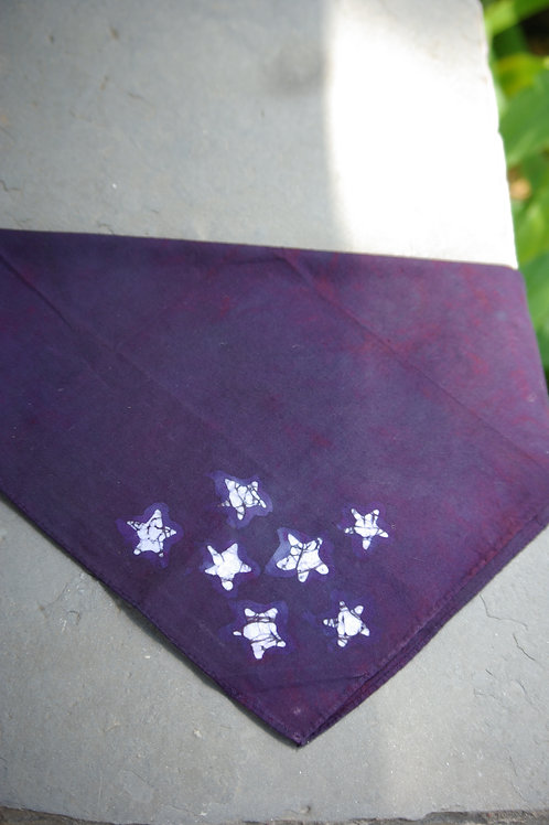 Purple Star Hankie