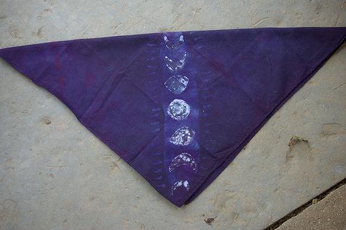 Purple Moon Cycle Hankie