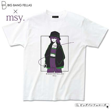 BIG BANG FELLAS Tシャツデザイン制作
