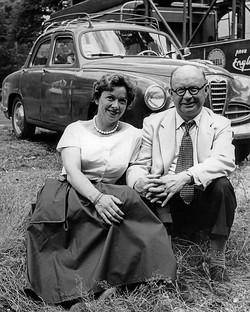 Haysie & John, French GP 1958