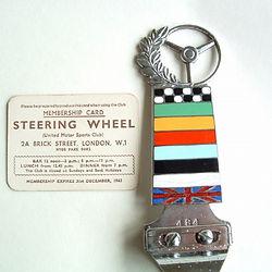 1962 Membership Card & Car Badge