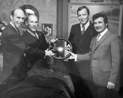 Richard Attwood, Stirling Moss, Rico Steinemann & Hans Herrmann