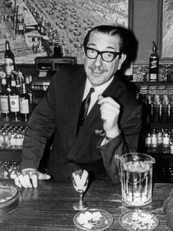Frank Vent, Barman at the  Steering Wheel Club