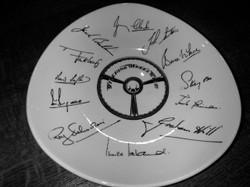 Steering Wheel Club Plate (1962)