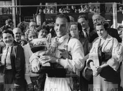 Aintree 1954, Daily Telegraph Trophy Race, winner Stirling Moss